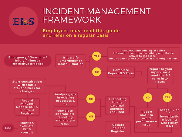 Ndis incident management