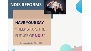 Have your say in shaping the future of NDIS
