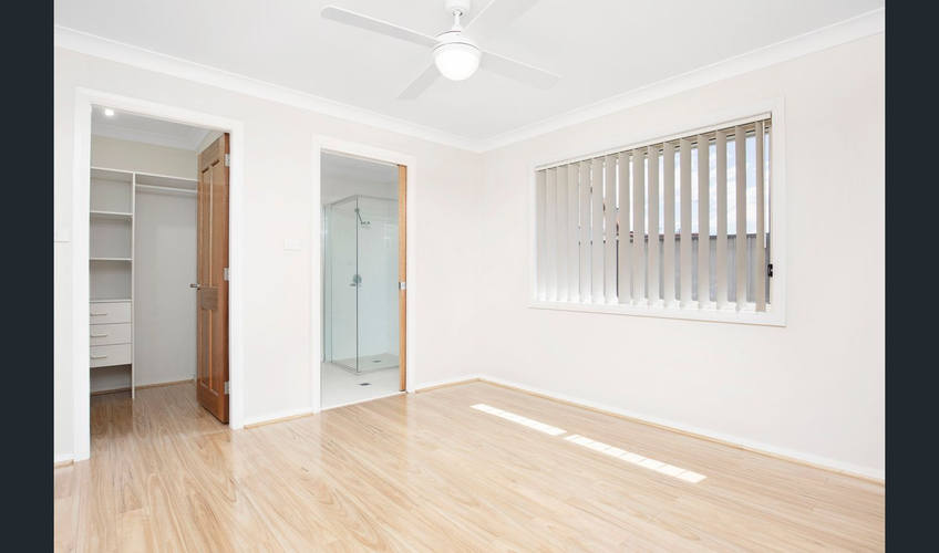 Room with builtin Wardrobe