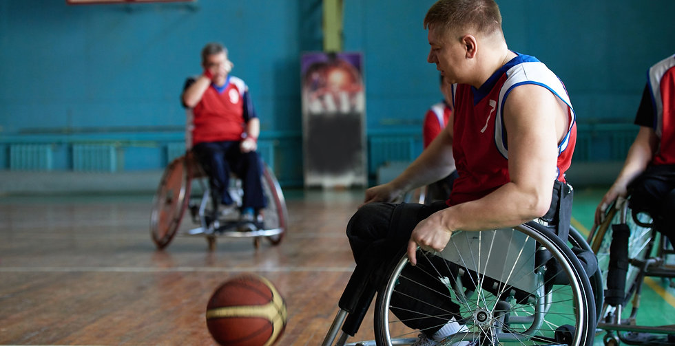 Sport activites for people with disabilities