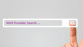 Searching NDIS service providers in your area