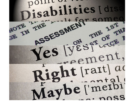 NDIS Independent Assessment process - another diversion yet a promising approach