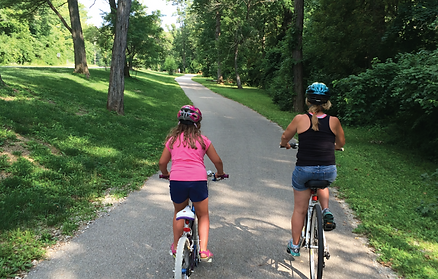 Fall Creek Greenway Family Bike Ride