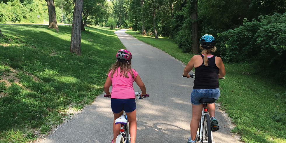 Fall Creek Greenway Family Bike Ride