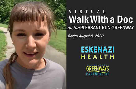 (Virtual) Walk With a Doc on the Pleasant Run Greenway (1)