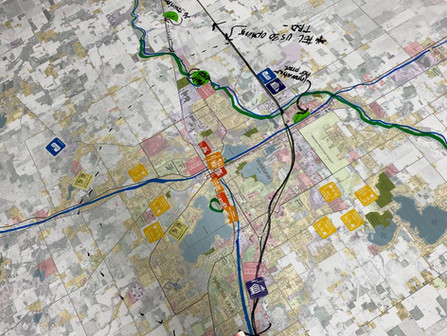 Exploring the future through land use and development