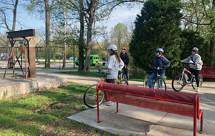 Art on the Greenways: Monon Trail Public Art Bike Tour