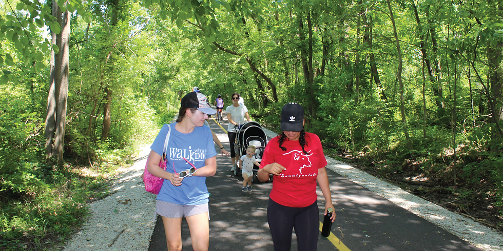 Walk With A Doc on the Eagle Creek Greenway