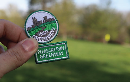 2020-2021 Indy Greenways Girl Scout Patch Program