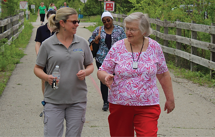 Walk With A Doc on the Monon Trail