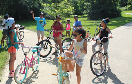 Explore Indy Greenways- Johnson Road Trail/Fall Creek Greenway Family Bike Ride