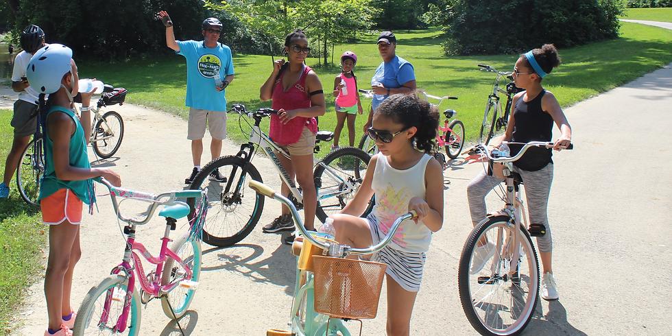 Explore Indy Greenways- Johnson Road Trail/Fall Creek Greenway Family Bike Ride