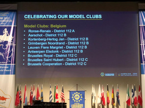 5 'Campaign 100 Model Clubs' in ons district