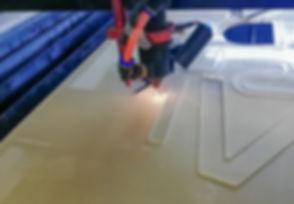 Laser cutting acrylic PMMA. Laser cnc ma