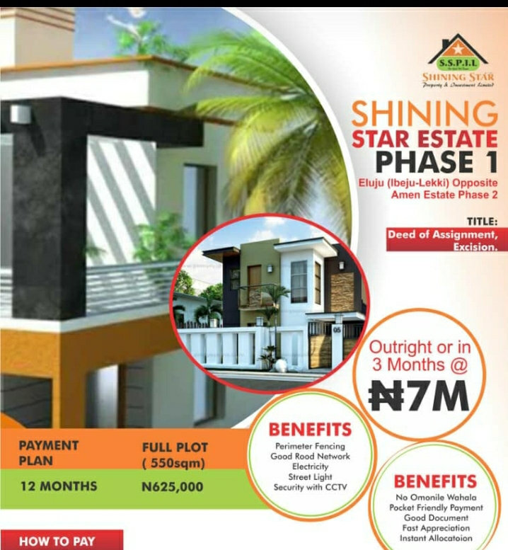 Shinning Start Estate Phase One