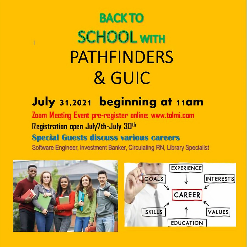 Pathfinders and GUIC Back to School