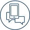 text-phone icon