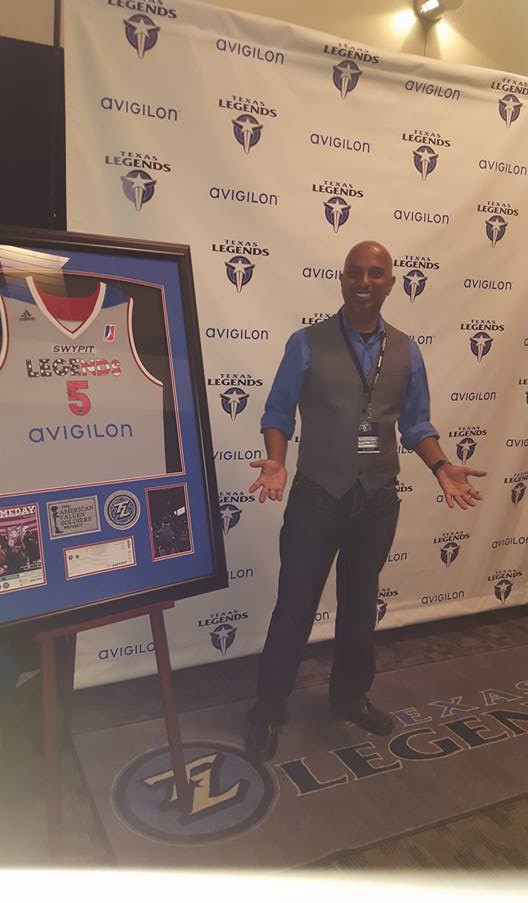 Presenting at the Texas Legends.jpg