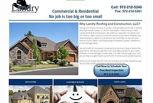 Landry Roofing - Residential and Commercial Roofing Services