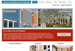 Absolute Striping and Painting - Professional Interior/Exterior Painting