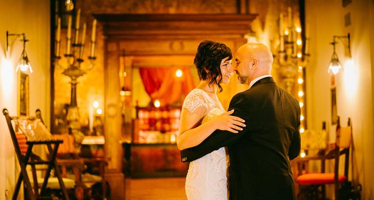Matrimonio..dal Web al Castello Chiola
