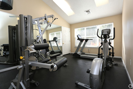 Fitness Center at Woodbriar Apartments
