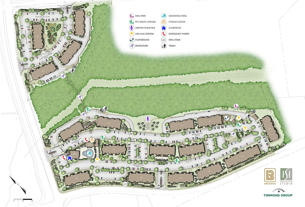 Site Plan Marshall-Springs-at-Gayton-Wes