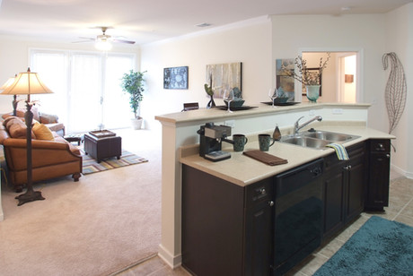 Lots of Countertop Space