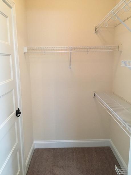 Closet space galore