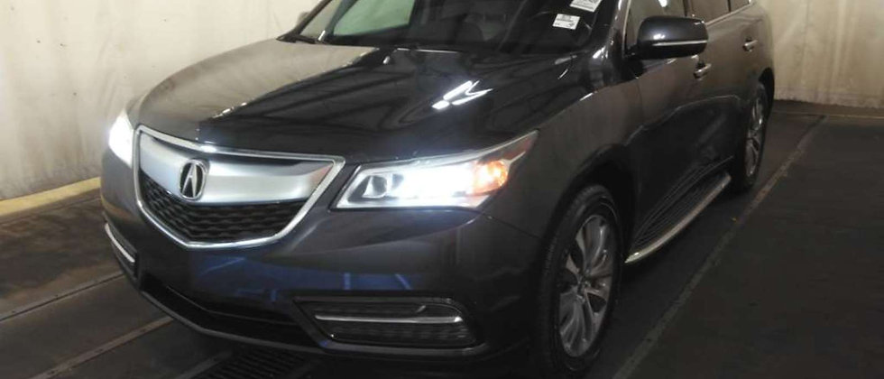 2014 Acura MDX Entertainment
