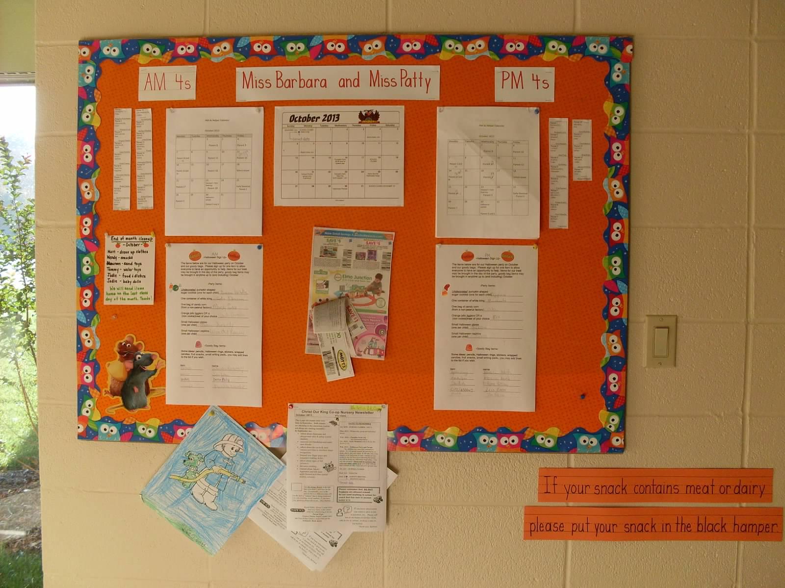 Hall Bulletinboard