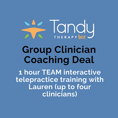 Group Clinician Coaching