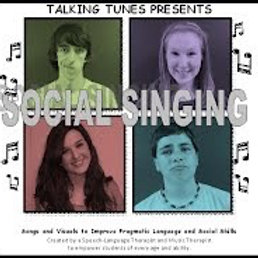 Social Singing - Talking Tunes CD and CD-Rom