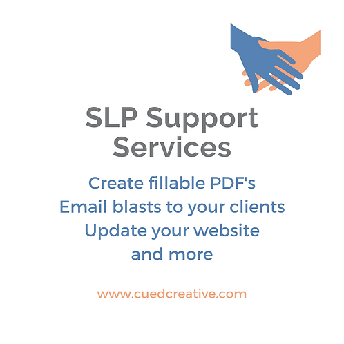 SLP Support Services - Email info@hannahboeck.com