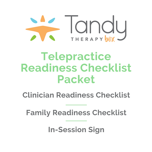 Telepractice Readiness Packet