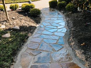 Distinctive Outdoors Walkway