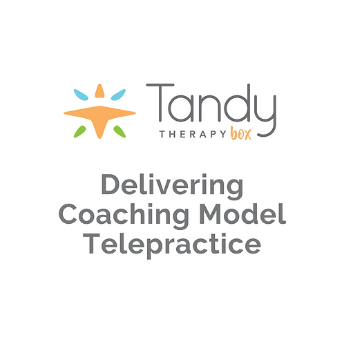 Parent Coaching in Telepractice
