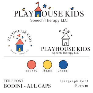 Playhouse Kids Speech Therapy