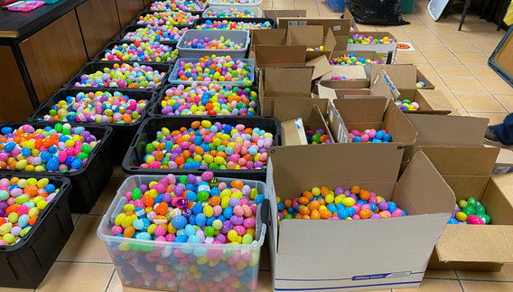 2021 Main Street Goliad Easter Eggs