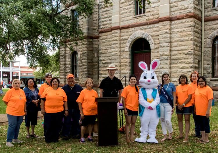 Volunteers Easter Egg Hunt