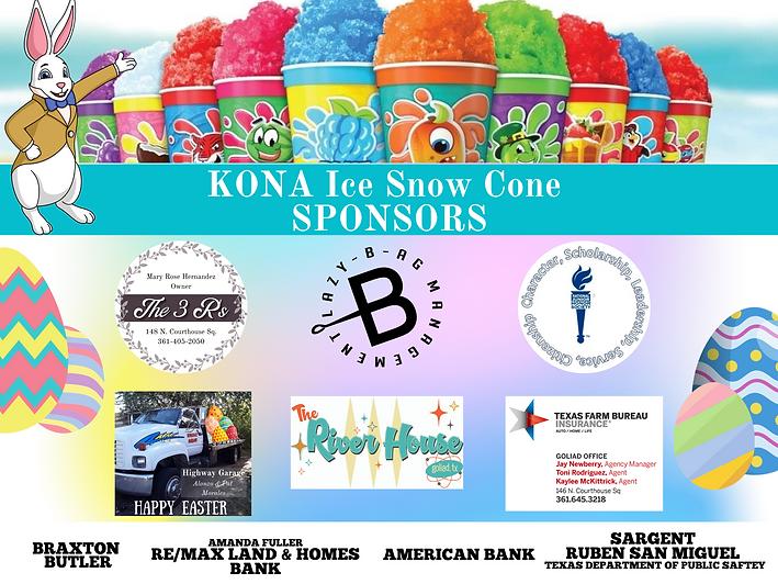 Snow Cone Sponsors
