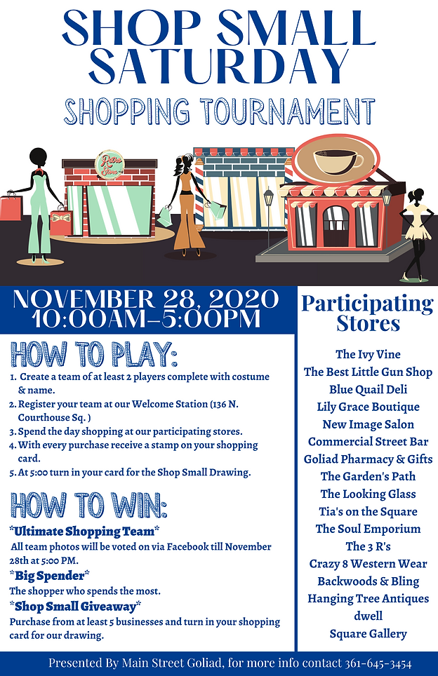 2020 Shop Small Flyer Goliad.png
