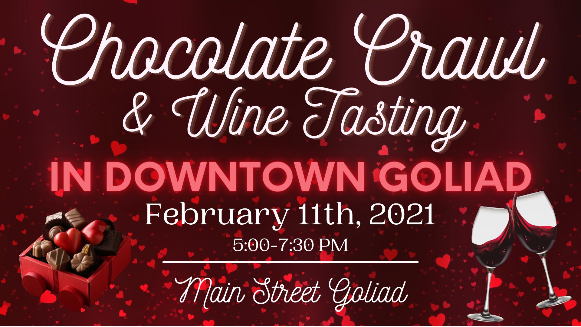 Chocolate Crawl & Wine Tasting Event Cov