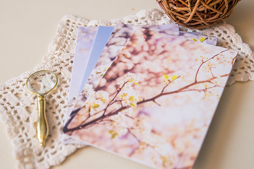 Flowering Branches Greeting Cards