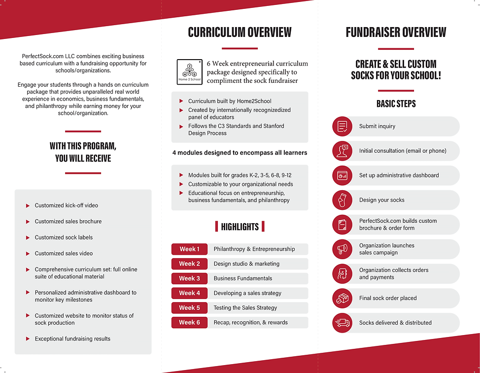 Brochure Design - Final Design (Client P