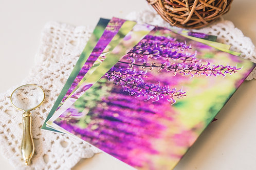 Meadow Sage Greeting Cards