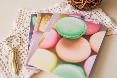 Macarons Greeting Cards