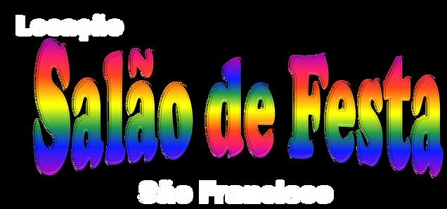 Resultado de imagem para SALAO DE FESTA logo