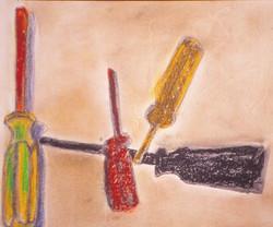 "John SD, 15""x16"", Pastel"