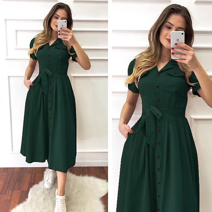 Designer Green Color Rayon Two Pocket Kurti For Women's and Girl's